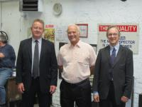 Terry Fox Retires after 23 Years at J & J Siddons